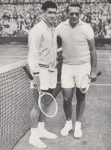 drobny-and-ken-rosewall-before- Wimbledon final-1954