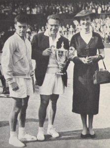 Drobny Wimbledon Winner with Dutch of Kent