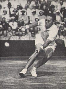 drobny in Wimbledon 1954